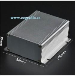 Caja Aluminio 10 X 8.8 X 3.9cm