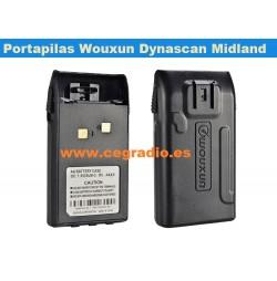Portapilas AA Wouxun Dynascan Midland