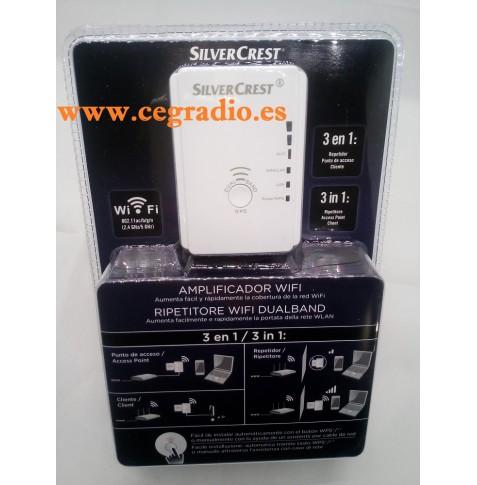SilverCrest Amplificador Wifi Dual Band