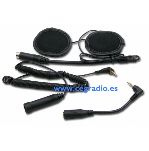 SHS 300 Auriculares para Cascos