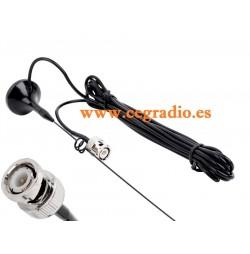 NAGOYA UT-108UV Antena Mini Magnetica BNC VHF UHF Vista General