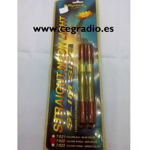2 lámparas de neón Phonocar 7/022