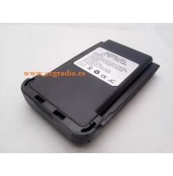 Bateria Dynascan WOUXUN KG UV8D 1700MAH 7.4V Vista Lateral