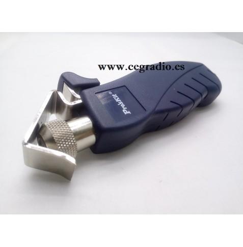 Pelacables de perfil redondo de 4,5 a 25mm