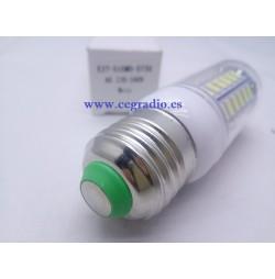 Bombilla Cubierta E27 12W 56 LED 5730 SMD blanco puro 220V