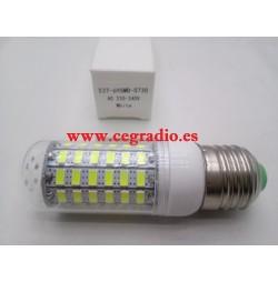 Bombilla E27 12W 69 LED 5730 SMD blanco frío 220V