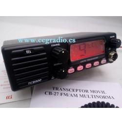 TTI TCB-900 Emisora CB 27MHZ Vista Frontal