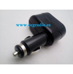 Adaptador Mechero 2 Tomas 12V 24V