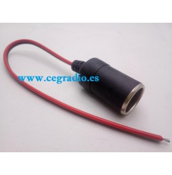 Cable Conector Mechero Hembra 12V 24V