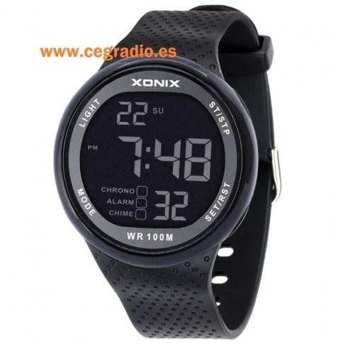 Reloj Digital Deportivo resistente al agua 100 metros