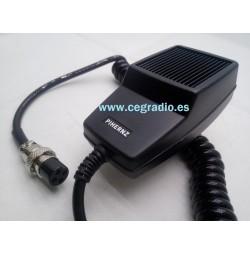 Micrófono Recambio DNC-508 4 pins