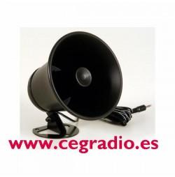 Altavoz Exponencial PA Horn Vista Frontal