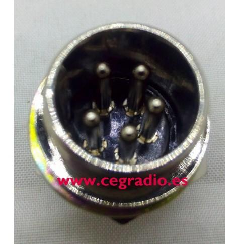 Conector Chasis Micro 5 Pins Macho