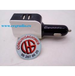 POWSTRO Dual USB 5 V 3.1A Cargador de Coche