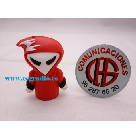 Memoria USB 8GB Red Ghost