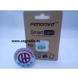 PenDrive Tarjeta de Memoria Micro SD Class 10 8GB 16GB 32GB 64GB Vista Blister