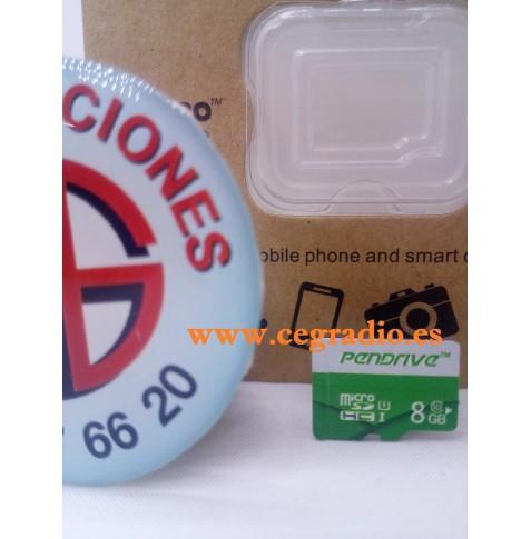 PenDrive Tarjeta de Memoria Micro SD Class 10 8GB 16GB 32GB 64GB