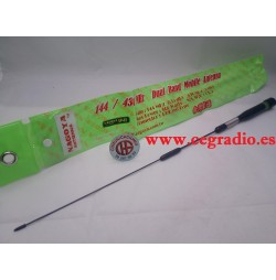 Antena Móvil NAGOYA Muelle Doble Banda VHF UHF 144 MHz 430 MHz 100 W