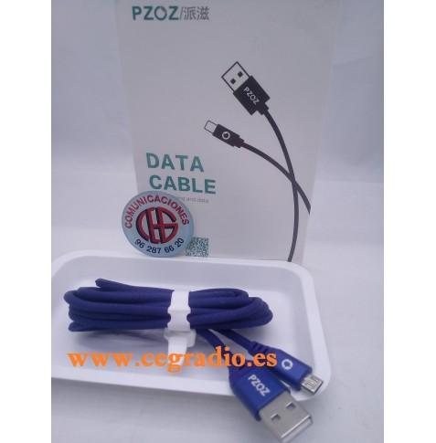 PZOZ Cable Micro USB Carga Rápida Teléfono Móvil