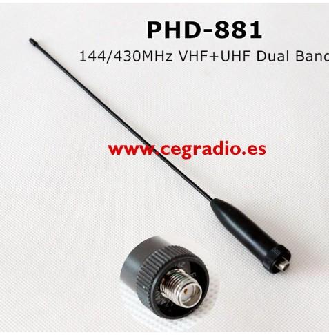 Antena Protec PHD-881 SMA Hembra