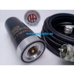 D-ORIGINAL PHANTOM Antena Móvil VHF-UHF Magnética Vista Conector