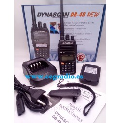 DYNASCAN DB48 NEW Walkie VHF UHF Bibanda