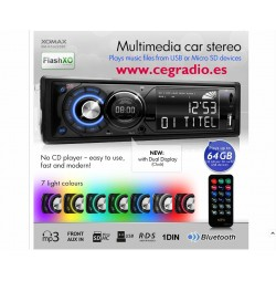 Radio CD XomaX XM-RSU225BlueTooTh