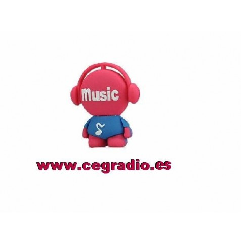 USB 8GB Muñeco musical