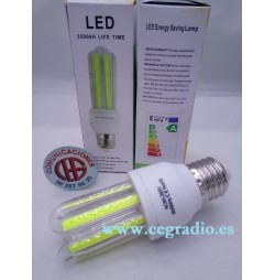 Lámpara LED COB E27 12 W Blanco Puro
