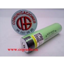 Liitokala Panasonic NCR18650B 18650 3400 mAh li-ion PCB Vista Frontal