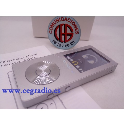 Reproductor MP3 Vídeo Radio FM HIFI Grabadora de 8GB