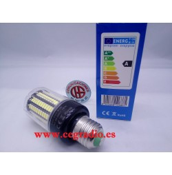 Bombilla LED 5730 SMD E27 12 W 360 grados 220 V Vista General