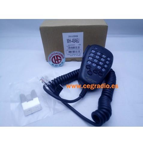 Micrófono DTMF Yaesu MH-48