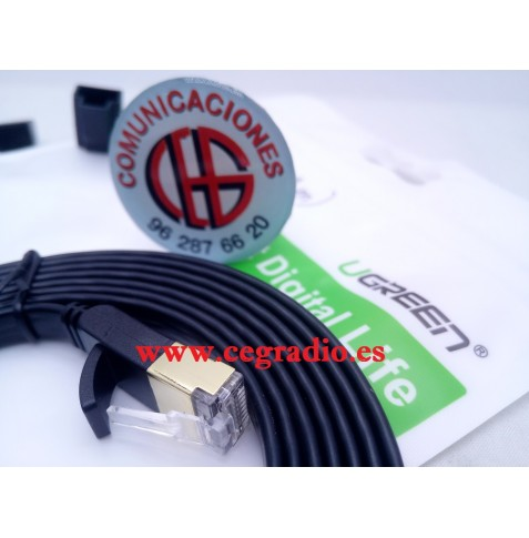 2m Ugreen Cable Red Cat 7 RJ45 Ethernet
