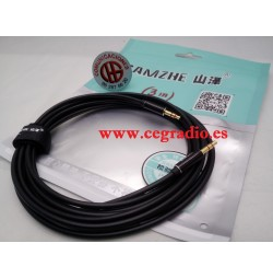 SAMZHE Cable Audio Jack 3.5mm Macho a Macho Estéreo 3 m