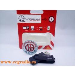 WANSENDA D300 Memoria USB 3.0 Pen Drive 16 GB