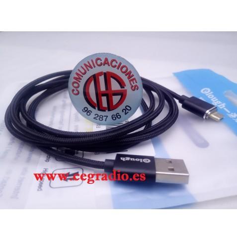Elough Cable Micro USB Magnético de Carga Rápida