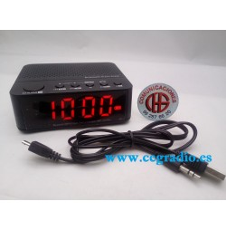 Radio Reloj Despertador Digital Bluetooth V2.1