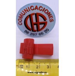Conector empalme cables 1.02 a 0.65 mm