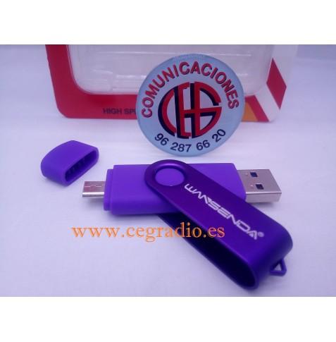 8GB Wansenda Usb 3.0 OTG unidad flash USB para SmartPhone Tablet PC