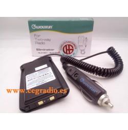 Wouxun Dynascan KG-UV8D Eliminador de Batería Mechero Coche