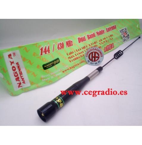 Antena Nagoya SP-40H VHF UHF Doble banda