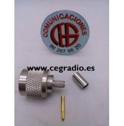 Conector N Macho para RG58