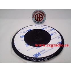 Disco para soportes de ventosa GPS Tablet Vista Trasera