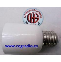 Convertidor conecsión Bombilla G24 a bombilla E27