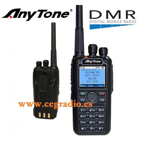 ANYTONE AT-D868UV BIBANDA DMR VHF UHF