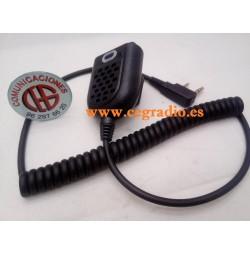Micrófono Altavoz LED Para Radio Kenwood Dynascan Baofeng