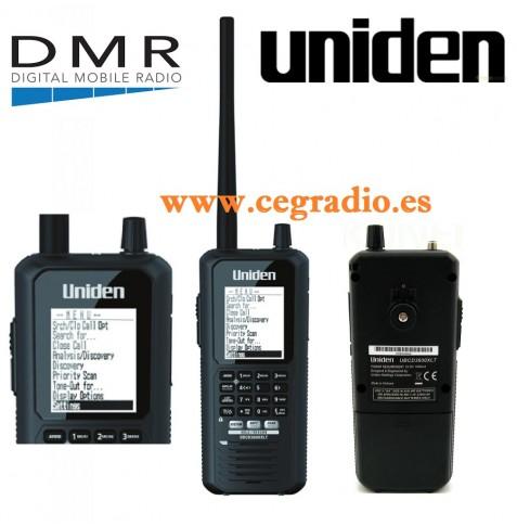 UNIDEN UBCD3600XLT Receptor Escaner Digital DMR