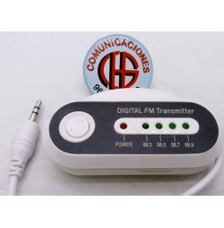 Transmisor Wireless FM HJ-168A