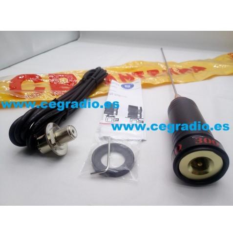 Super Santiago 300 Antena CB 27Mhz Vista General
